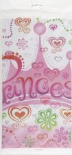 Birthday Princess Plastic Tablecover